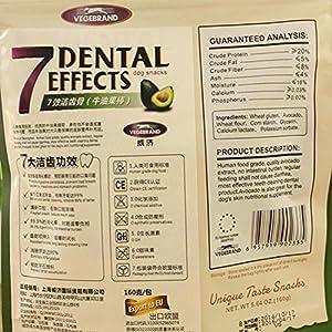 HYGMall 1 PCS Avocat Pet Food Collations Végétales PetFood Avocat Bâton Snack Nutrition Chien Formation Mâcher Bâtons Oral Nettoyage Maison Chien Produit