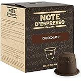 Note D'Espresso Cioccolato Preparato Solubile in Capsule per Bevanda al Gusto di Cioccolato - 280 g (40 x 7 g) Esclusivamente