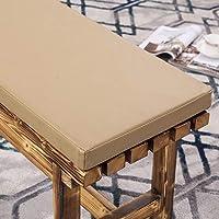 Coussin de meubles de jardin en simili cuir imperméable pour banc de terrasse en métal/bois, 5 cm d'épaisseur