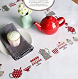 Rico Design Kuchen, Cupcakes Kit Stoff, Polyester Baumwolle, Mehrfarbig