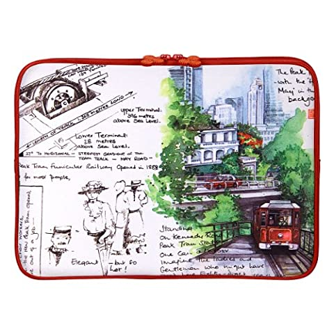 Be.ez 100664 Housse LA robe CHINA SCENES pour MacBook Pro 17