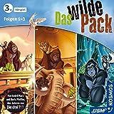 Das wilde Pack Hörbox Folgen 1-3: Fantastisches Hörspiel für starke Kinder ab 5 Jahren