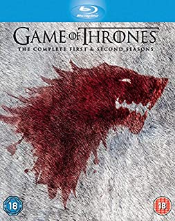 Game Of Thrones - Complete Seasons 1 & 2 (10 Blu-Ray) [Edizione: Regno Unito] [Reino Unido] [Blu-ray] by Game of Thrones (B007V3OY0G) | Amazon price tracker / tracking, Amazon price history charts, Amazon price watches, Amazon price drop alerts