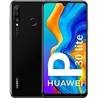 Huawei P30 Lite Smartphone débloqué 4G (6,15 pouces - 128Go - Double Nano SIM - Android 9.0) Midnight Black [Version Française]