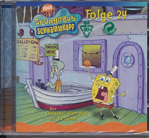 SpongeBob Schwammkopf, Folge 24 (1 Audio-CD)