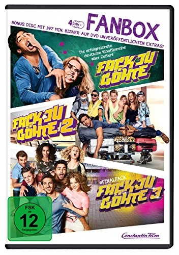Fack Ju Göhte 1-3 - Fan Box (inkl. Bonus-Disc) [4 DVDs]