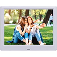 8.7 inch IPS Digital Photo Picture Frames with Remote Control, Photo Video Player/4 Windows/Calendar/Alarm Clock/6…