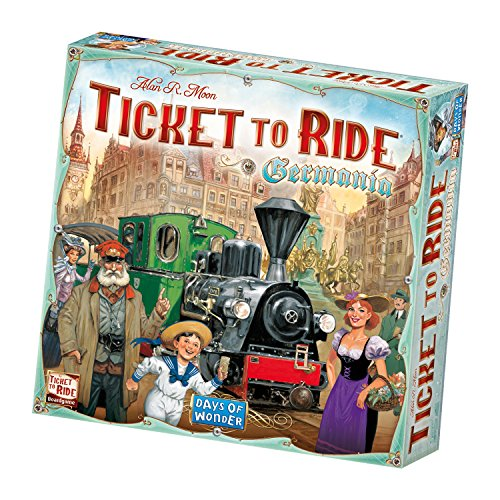 Asmodee Italia- Ticket To Ride Germania Edizione Italiana, 8511