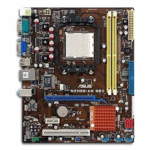 Asus M2N68-AM SE2 µATX Mainboard (Sockel AM2/AM2+, on board VGA (256 MB), HT2000 MHz FSB)