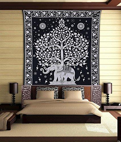 stylo-cultura-elefante-mandala-arazzo-cotone-bianco-nero-bianco-appeso-a-parete-della-parete-stampat