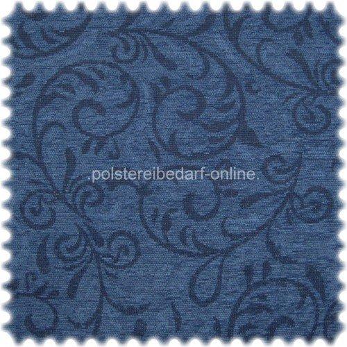 polstereibedarf-online Dralon® Möbelstoff Valencia Blau -