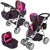 Babypuppenwagen Puppenkarre Puppenwagen Puppen KP0300 Kombi Kinderwagen NEU