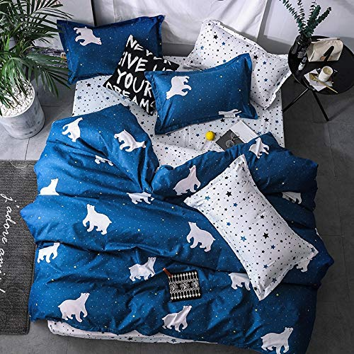 muzi928 Tall Buildings Bedding Set Bedclothes Winter Home Textiles King Queen Full Twin Size Duvet Cover Bed Linen Pillowcase150*201cm -