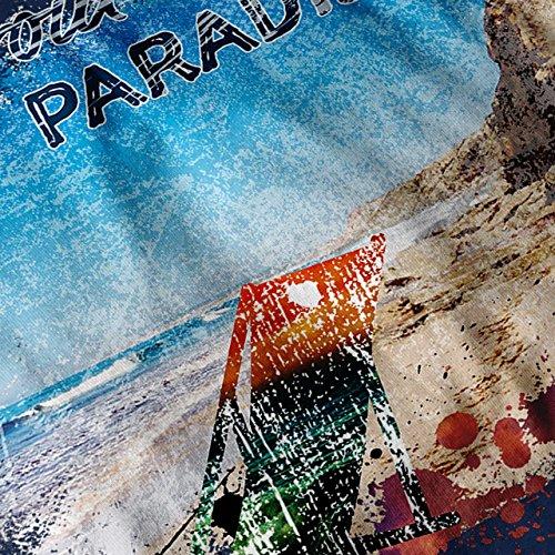 Paradies Ferien Urlaub Sonnenschein Liebe Damen S-2XL Muskelshirt | Wellcoda Marine