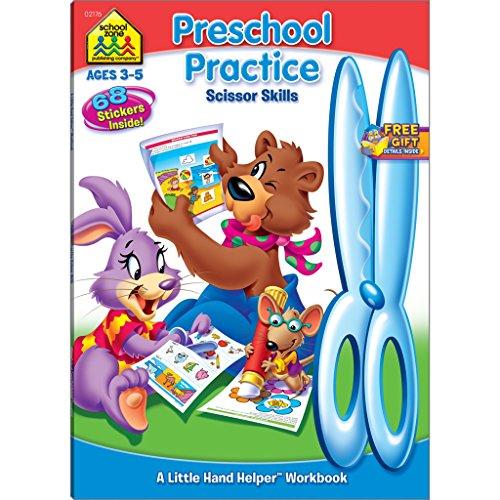 Preschool Practice Scissor Skills (Little Hand Helper Workbooks)