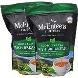 McEntee's Irish Breakfast Tea (pak van 2) - zakken van 250 g - vakkundig gemengd in Ierland. Een traditionele Ierse melange v