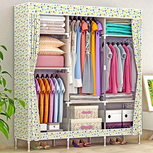 MMM& Armoire Simple Economie Moderne Dortoir Pliant Simple Dortoir Contenant Tissu Armoires ( couleur : # 3 )