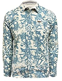 Chemise ML Crempi Allover Printed Sel - Oxbow
