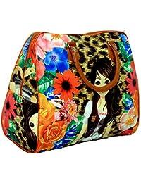 Kuber Industries Women Multi-Colored Travel Duffle Bag