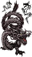 Smilendeal_T1739 Removeable Temp Body Tattoo - Dragon Tattoo