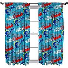 "Disney Cars 3""Lightning"" Set de cortina, multicolor, 137 cm"