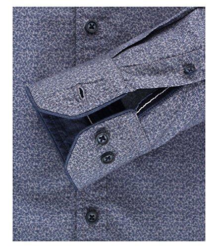 Michaelax-Fashion-Trade -  Camicia classiche  - Basic - Con bottoni  - Maniche lunghe  - Uomo Blau (100)