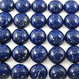 Lapis - Lazuli -Round Cabochon- Loose Cabochon-Gemstone Cab-Genuine Semi Precious Beads-Grade A -10mm 5 pcs