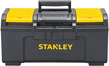 19-Inch : Stanley STST19410 One-Latch Toolbox, 19-Inch, Black