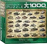 World War II Tanks Puzzle, 1000-Piece