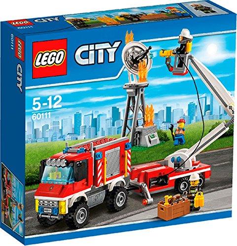 Preisvergleich Produktbild LEGO® City 60111 Feuerwehr-Einsatzfahrzeug