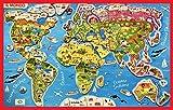 Un bellissimo e divertente gioco che aiuterà il bambino a conoscere tutti i paesi del mondo, i suoi abitanti e animali grazie a un gioco educativo e preciso! Il gioco comprende dei magneti di vario colore e forma da combinare e riconoscere e ...