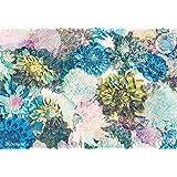 "Komar 8-941368x 254cm ""Frisky Blumen Floral Tapete Wandbild-Mehrfarbig (8Stück)"