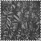 Crash-Samt, uni, grau, 150 cm breit, Meterware