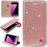 Sycode Galaxy S7 Edge Glitzer Schutzhülle,Flip Hülle für Samsung S7 Edge,Luxus Noble Bling Glitter {Be Loved}... preisvergleich bei billige-tabletten.eu