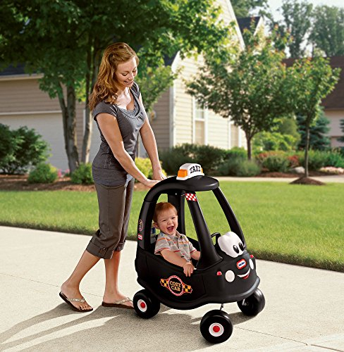 Little Tikes Black Taxi Cozy Coupe Ride-on