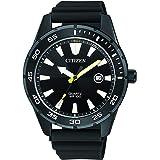 CITIZEN Mens Quartz Watch, Analog Display and PU Strap - BI1045-13E