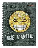 Undercover EMCA0511 - Collegeblock A4, Emoji