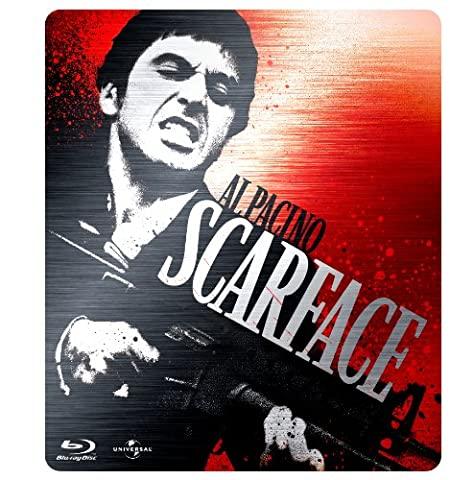 Scarface Limited Edition Steelbook Triple Play [Blu-ray] [Import anglais]