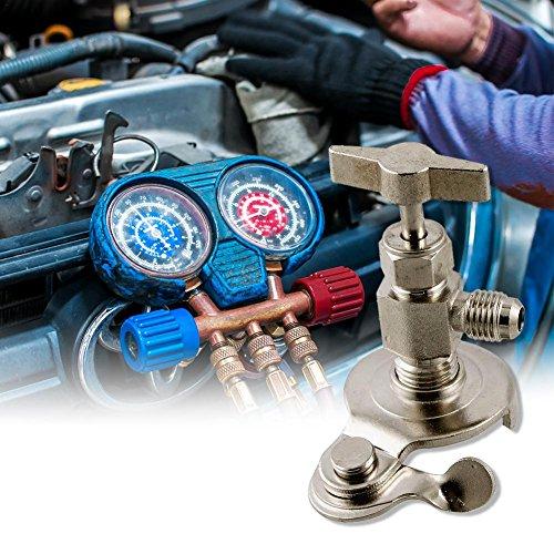 Preisvergleich Produktbild Universal High-End 340 R134a / R22 / R12 / R410 / R407C Auto Klimaanlage Flaschenöffner Kältemittel Kfz-Klimaanlagen Reparatur-Tools