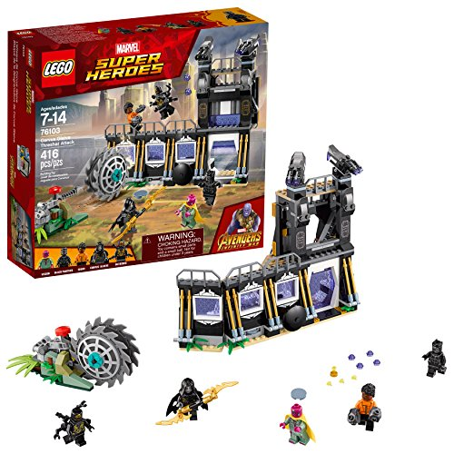 LEGO Marvel Super Heroes Avengers: Infinity War Corvus Glaive Thresher Attack 76103 Bausatz (416-teilig)