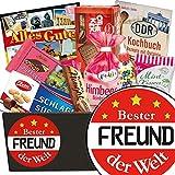 Bester Freund | Süssigkeiten Geschenk | Geschenkkorb | Bester Freund | Ossi Paket | Geschenkideen Freund | mit Puffreis Schokolade, Zetti und mehr