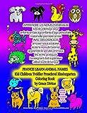 APPRENDRE LES NOMS D'ANIMAUX livre de coloriage: FRANCE LEARN ANIMAL NAMES Kid Children Toddler Preschool Kindergarten Coloring Book by Grace Divine