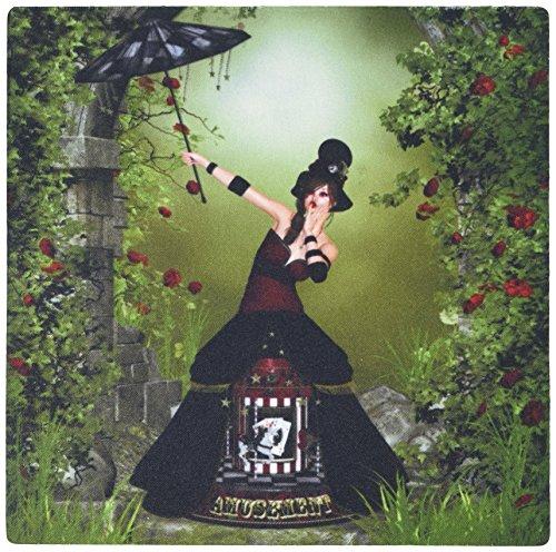 0,3x 0,6cm Maus Pad ein Gothic Steampunk Künstler in ein Pferd Karussell, Kostüm (MP _ 181690_ 1) (Künstler Kostüme)