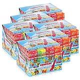 Flic'n'lic Lutscher Tropical 24 Stück 336g - Doppelter Fruchtgeschmack (6er Pack)
