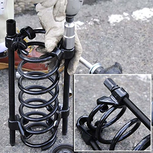 Preisvergleich Produktbild 370mm Tuning Federspanner Set Tieferlegungstossdämpfer Robust 2-TLG Spanner Spannweite