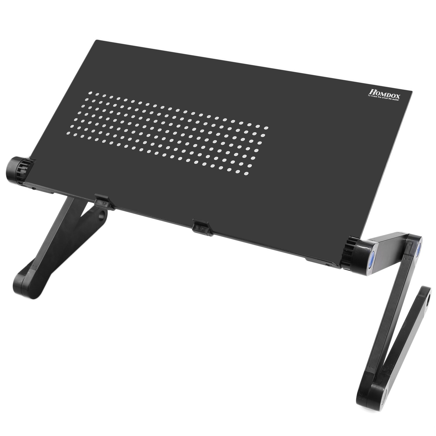 Homdox Folding Laptop Table Degree Portable Laptop Stand Bed