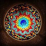 Mosaik - Deckenlampe Wandlampe NEU & Mosaiklampe orientalische lampe Bunt Samarkand-Lights