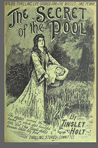Journal Vintage Penny Dreadful Book Cover Reproduction Secret of the Pool