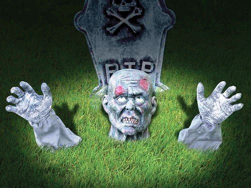 r Halloween Fancy Dress Stage Prop Decoration by Parties Unwrapped (Zombie Ground Breaker)