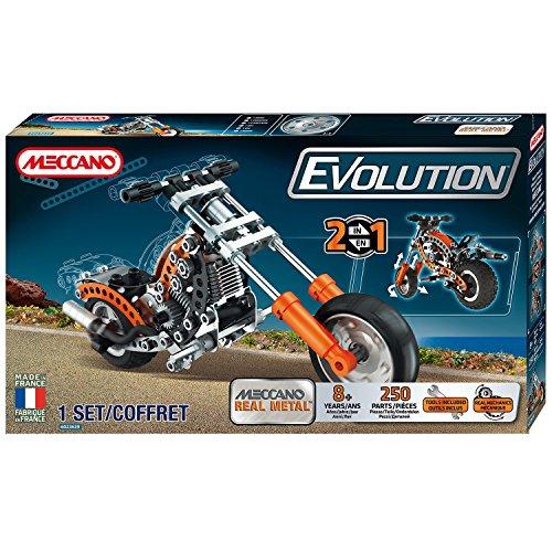 Meccano 6023639 - Evolution Moto (Moto Chopper)